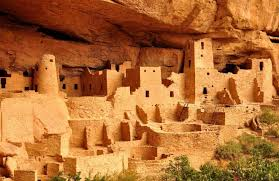 an Anasazi cliff dwelling